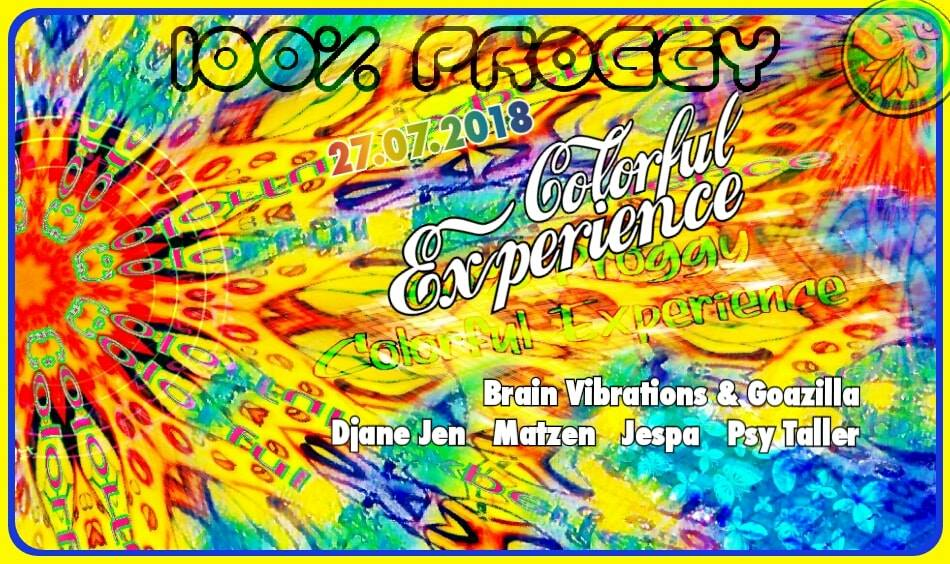 100% Proggy – Colorful Experience