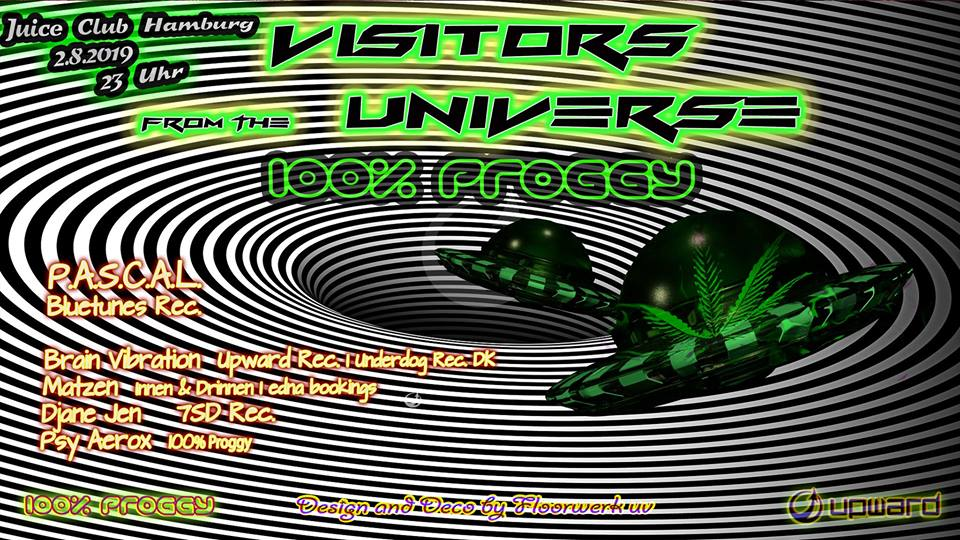 100% Proggy – Visitors From The Universe