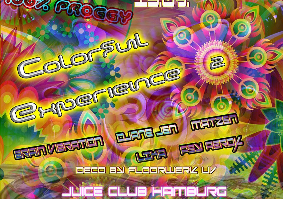 100% Proggy – Colorful Experience 2
