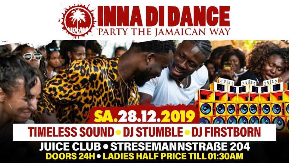Inna Di Dance Christmas Bash