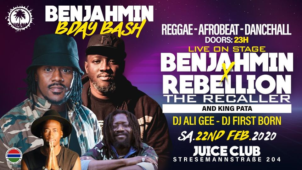 Benjahmin's Birthday Bash